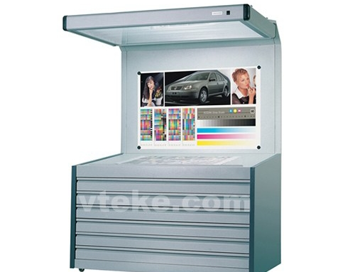 Color viewing booth A1 size full size CPS-3 CPS-6