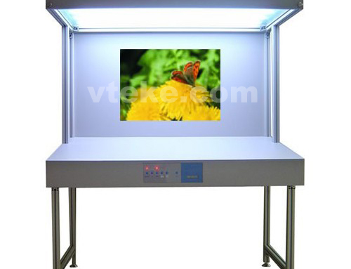 Color viewing booth 3 light sources CAC-12
