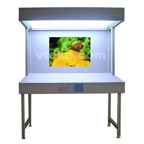 Light Booth -3 lights- floor stand CAC-12