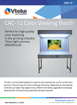 Vteke Color Viewing Booth CAC-12