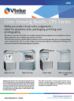 Vteke Color Viewing Booth CPS series