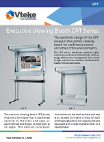 Vteke xecutive viewing booth CPT series