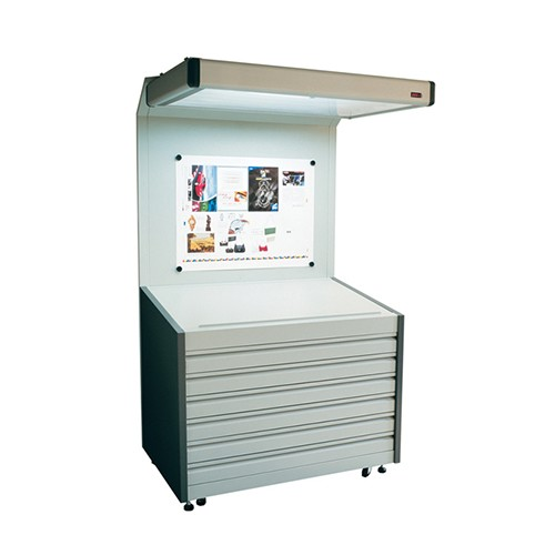 Color Viewing Booth